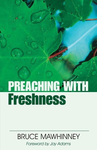 Preaching with Freshness  N/A edition cover