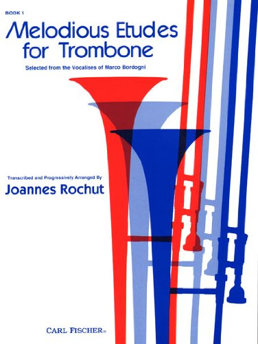 Melodious Etudes for Trombone 1st edition cover