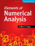 Elements of Numerical Analysis  2nd 2015 9781107500495 Front Cover