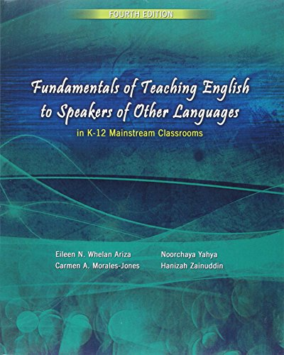 Fundamentals of Teaching English to Speakers of Other Languages in K-12 Mainstream Classrooms:   2015 edition cover