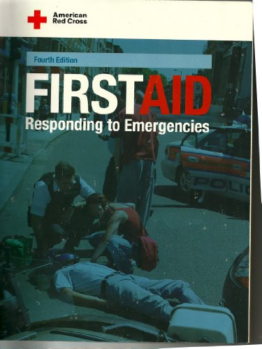 American Red Cross First Aid Responding to Emergencies 4th 2005 edition cover