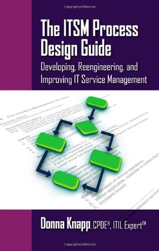 ITSM Process Design Guide  2010 edition cover