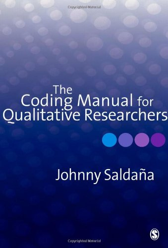 Coding Manual for Qualitative Researchers   2009 edition cover