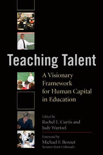 Teaching Talent A Visionary Framework for Human Capital in Education  2010 edition cover