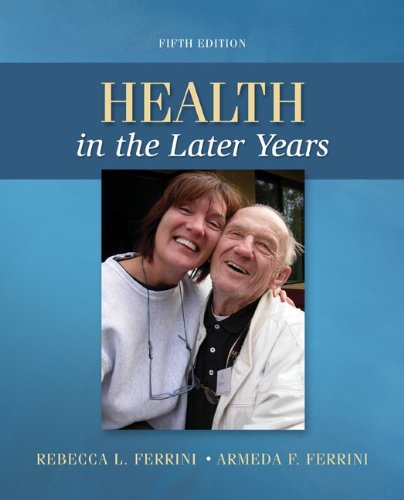 Health in the Later Years  5th 2013 edition cover