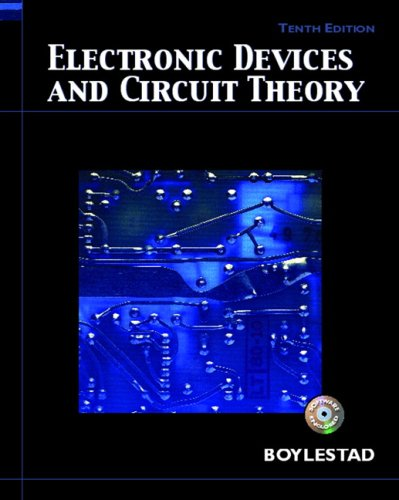 Electronic Devices and Circuit Theory  10th 2009 edition cover