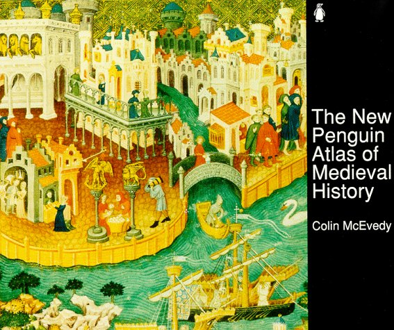 New Penguin Atlas of Medieval History  2nd 1992 edition cover