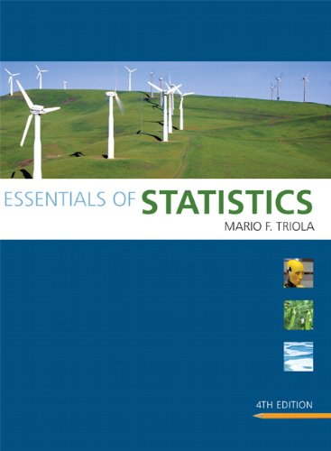 Essentials of Statistics  4th 2011 edition cover
