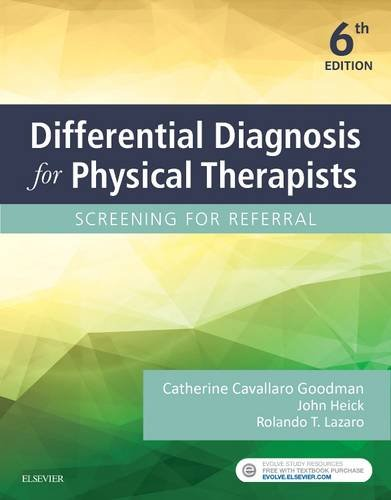 Differential Diagnosis for Physical Therapists: Screening for Referral  2017 9780323478496 Front Cover
