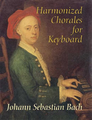 Harmonized Chorales for Keyboard  Unabridged  edition cover