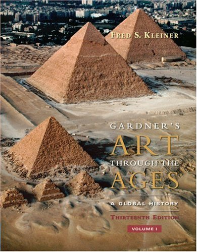 Gardner's Art Through the Ages  13th 2009 edition cover