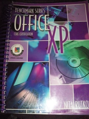 Microsoft Office XP : Core Certification  2002 9780763814496 Front Cover