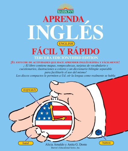 Aprenda Ingles Facil y Rapido Learn English the Fast and Fun Way for Spanish Speakers 3rd 2010 (Revised) edition cover