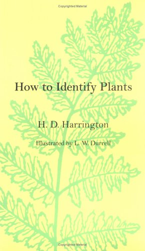How to Identify Plants  Reprint edition cover