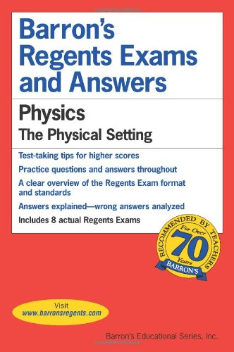 Physics The Physical Setting 2nd 2016 edition cover