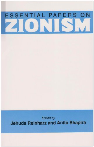 Essential Papers on Zionism  N/A edition cover