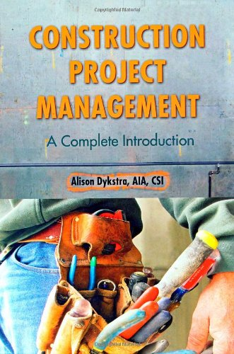 Construction Project Management A Complete Introduction  2011 edition cover