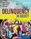 Delinquency in Society  9th 2014 edition cover