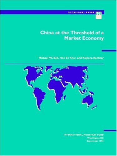 China at the Threshold of a Market Economy   1993 edition cover