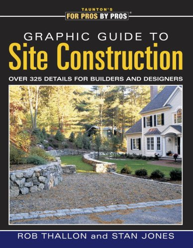 Graphic Guide to Site Construction Over 325 Details for Builders and Designers  2002 edition cover