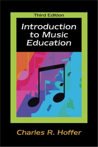 Introduction to Music Education  3rd 2009 edition cover