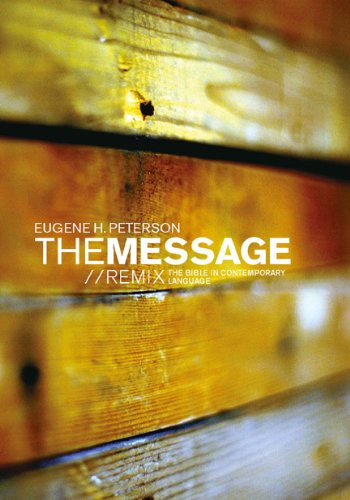 Message - Remix The Bible in Contemporary Language N/A edition cover
