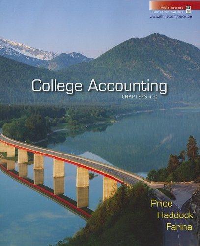 College Accounting Chapters 1-13:  2008 9780073365497 Front Cover