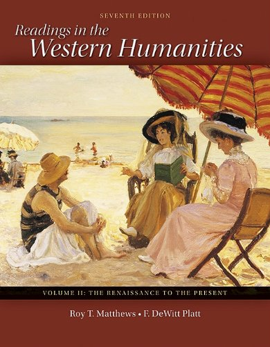Readings in the Western Humanities  7th 2011 edition cover