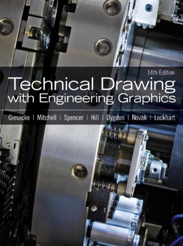 Technical Drawing with Engineering Graphics  14th 2012 (Revised) edition cover