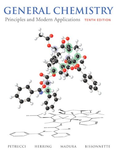 General Chemistry Principles and Modern Applications 10th 2011 edition cover