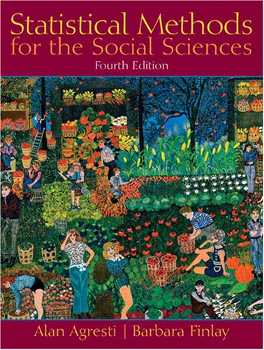 Statistical Methods for the Social Sciences  4th 2009 edition cover