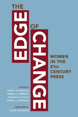 Edge of Change Women in the Twenty-First-Century Press  2009 edition cover