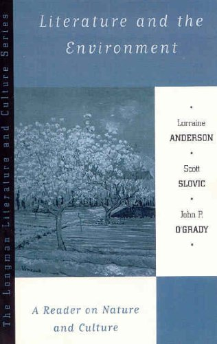 Literature and the Environment A Reader on Nature and Culture  1999 edition cover