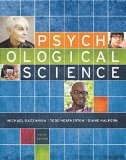 Psychological Science: 4th 2015 9780393937497 Front Cover