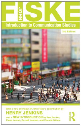 Introduction to Communication Studies  3rd 2011 (Revised) edition cover