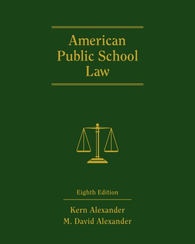 American Public School Law  8th 2012 9780495910497 Front Cover