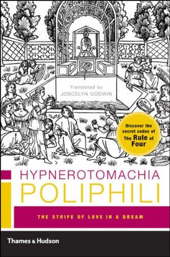 Hypnerotomachia Poliphili The Strife of Love in a Dream  2005 edition cover