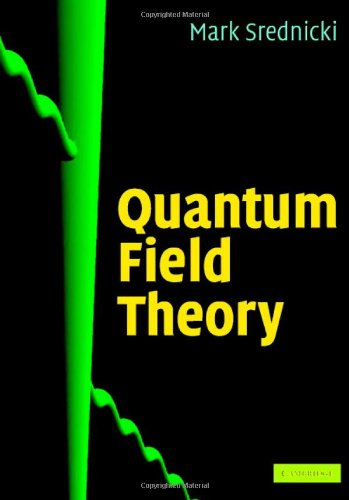 Quantum Field Theory   2007 edition cover