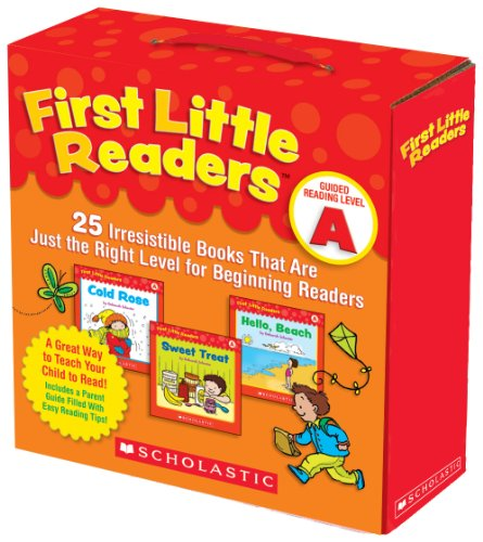 First Little Readers Parent Pack: Guided Reading Level A 25 Irresistible Books That Are Just the Right Level for Beginning Readers N/A 9780545231497 Front Cover