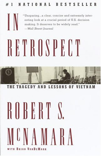 In Retrospect The Tragedy and Lessons of Vietnam  1996 edition cover