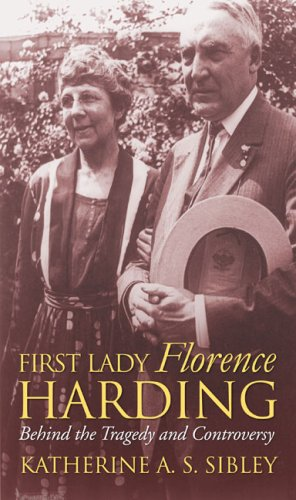 First Lady Florence Harding   2009 edition cover