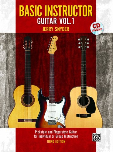 Basic Instructor Guitar, Bk 1  3rd 1995 edition cover
