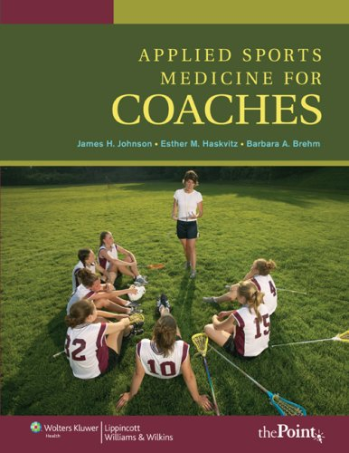 Applied Sports Medicine for Coaches   2008 9780781765497 Front Cover