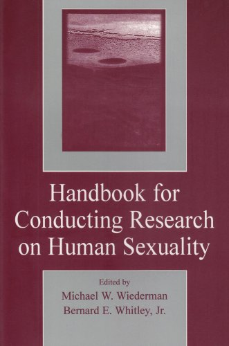 Handbook for Conducting Research on Human Sexuality   2001 edition cover