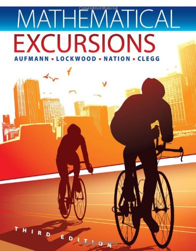Mathematical Excursions  3rd 2013 edition cover