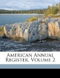 American Annual Register N/A edition cover