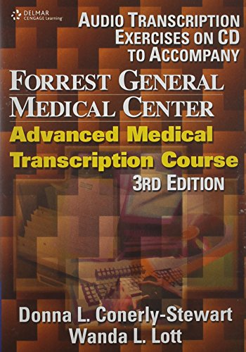Forrest General Medical Center Advanced Medical Transcription  2004 9781401833497 Front Cover
