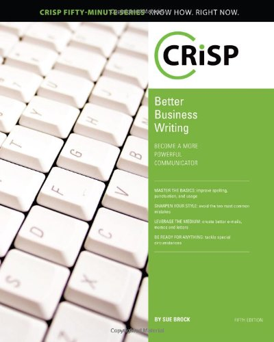 Better Business Writing, Fifth Edition  5th 2010 edition cover