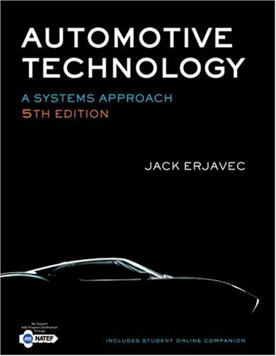 Automotive Technology A Systems Approach 5th 2010 9781428311497 Front Cover