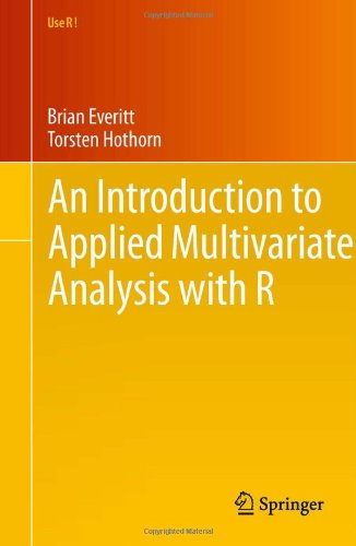 Introduction to Applied Multivariate Analysis with R   2011 9781441996497 Front Cover